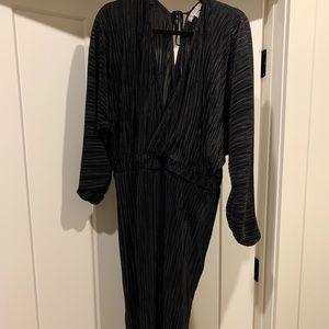 ASOS Plisse Midi Dress